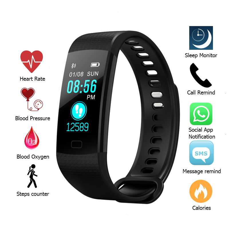 Smart Band Heart Rate Tracker Fitness Activity Tracker Smartband Smart Bracelet Waterproof Smart Wristband Smart Watch Men smart watch sports fitness activity heart rate tracker blood pressure smart bracelet band waterproof smartband bracelet