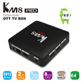 Mais novo S912 KM8 PRO Caixa de TV Android 6.0 Amlogic Octa Core de Smartphones tv 2 GB/8 GB 2.4G/5G WiFi BT4.0 1000 M LAN IPTV box 4 K Media Player