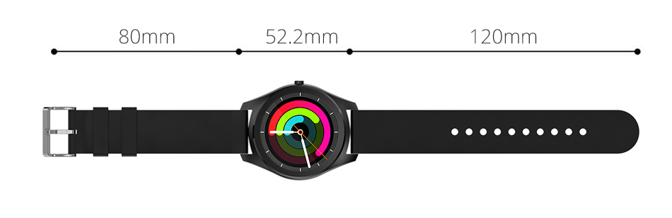 Diggro DI03 Smart Watch MTK2502C IP67 Waterproof Heart Rate Monitor Remote Control Camera Message Push Smartwatch IOS Android 22