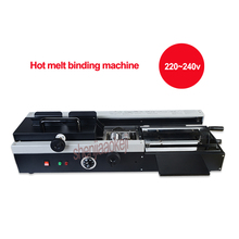 460A Wireless Hot melt binding machine automatic electric heating hot melt bookbinding machine for graphic shop office equipment