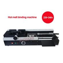 460A Wireless Hot melt binding machine automatic electric heating hot melt bookbinding machine for graphic shop office equipment