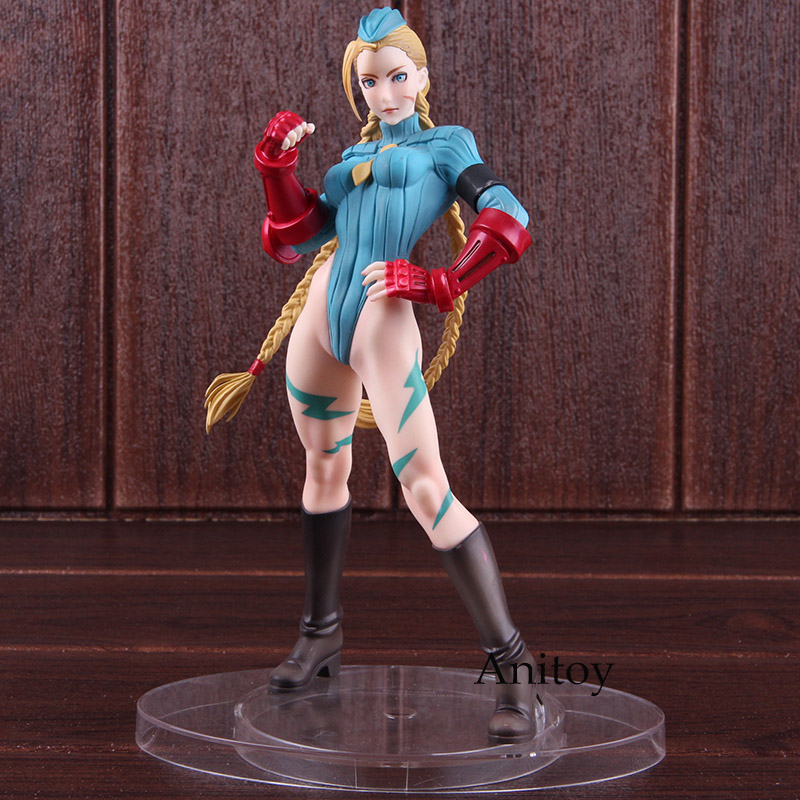 Street Fighter Bishoujo Statue Cammy White Sexy Alpha Costume 1/7 Scale Pre-painted Figure PVC KOTOBUKIYA Action Figure Toy 21cm street fighter bishoujo statue cammy alpha costume pvc action figure collectible model toys