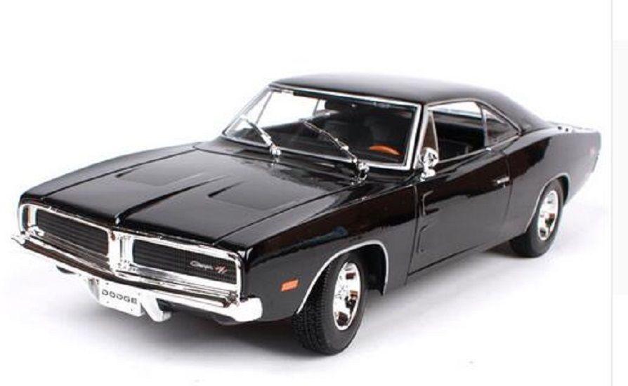 Maisto 1 18 1969 DODGE Charger R T Diecast Model Sports Racing Car NEW IN BOX