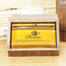 Скрипка Виолончель Луки канифоль роскошный кубовидный деревянный ящик скрипка Виолончель Луки канифоль Лето 8010 канифоль