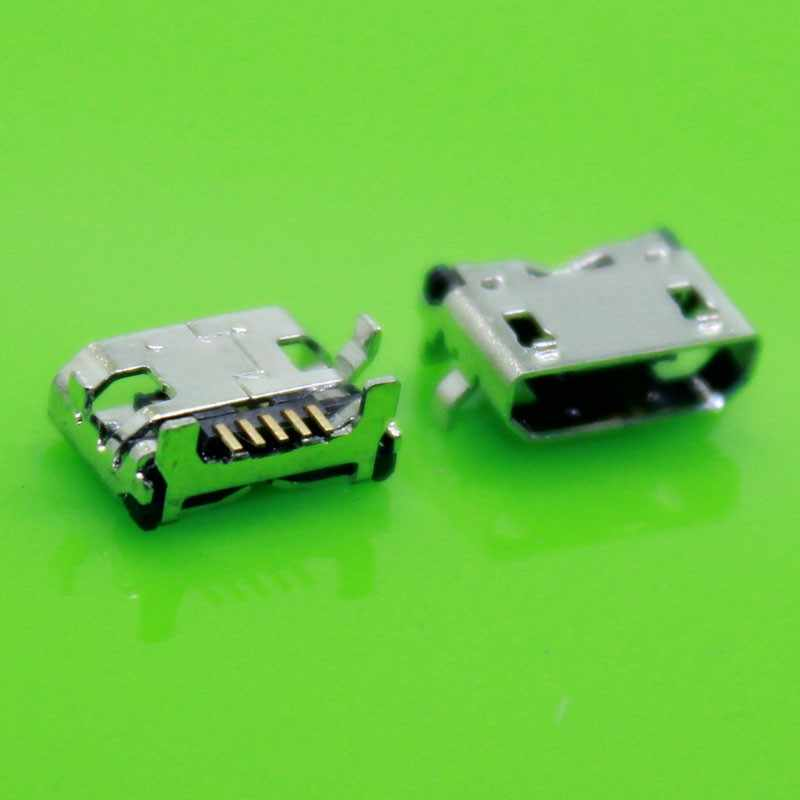 5pcs/lot Micro USB Charging Power Jack Port Connector for Lenovo A3000  A3000H A3000-H motherboard etc Tablet DC Jack