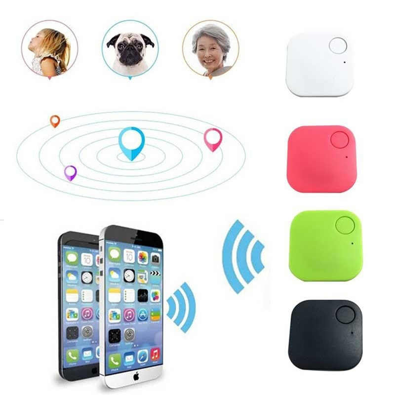 แฟชั่นมินิบลูทูธ 4.0 Tracker GPS Locator Tag Alarm กระเป๋าสตางค์ Key Pet Tracker สุนัข Anti - lost กระเป๋าขนาดสมาร์ท tracker