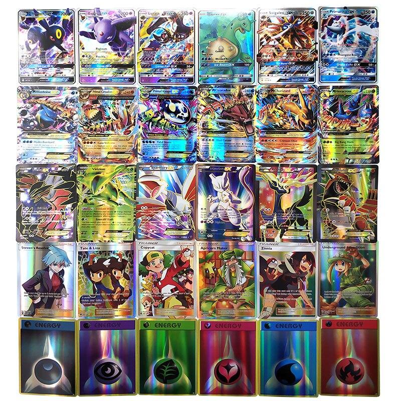 Hobby & Collectibles Angemessen Keine Wiederholung 100s 200 Pcs Für Carte Pokemons Karten Gx Ex Mega Glänzende Spiel Schlacht Carte Karte Spiel Für Kinder Pokemons Spielzeug Kaufen Sie Immer Gut Spiel-sammelkarten
