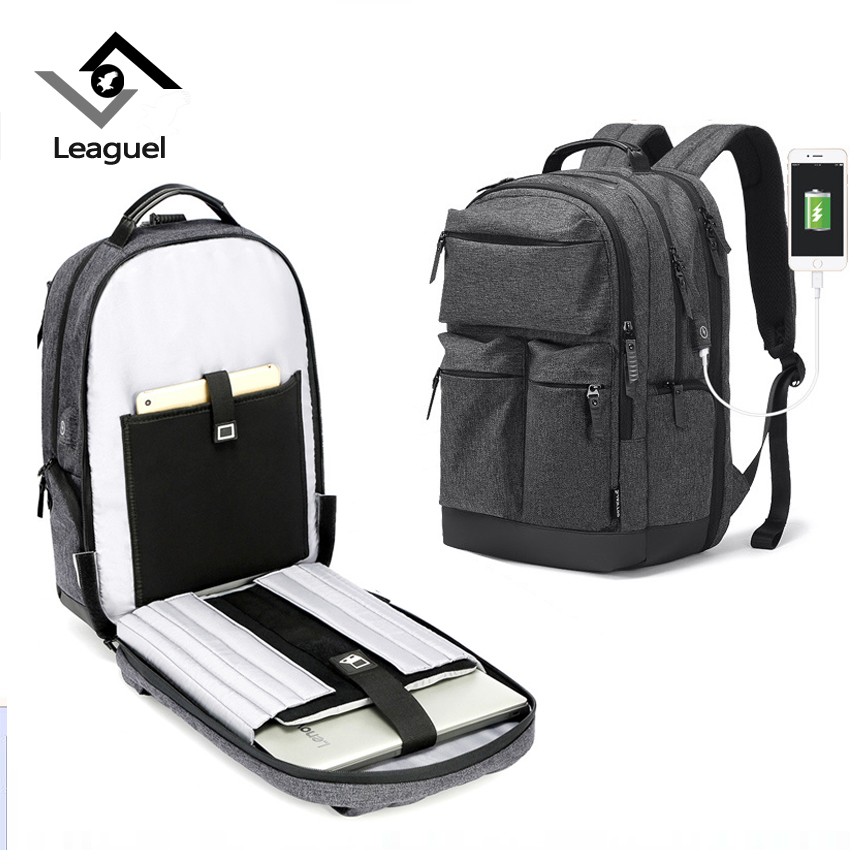 Leaguel Laptop Backpacks for Men Multifunction Oxford luxury large capacity College school bags for teenager Rucksack Travel Bag t plants multifunctional men large capacity backpacks oxford laptop bag for 14 inch college backpacks comfort travel backpack