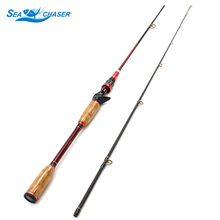 High Quality 2.1M Can stretch pole wooden handle Lure Rods Casting Spinning Fishing Rod Power M Lure 10-25g line wt 8-16LB casa 25g 8 page 8