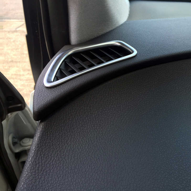 Matte Accessori Interni Superiore Car Air Vent Outlet Copertura Trim 2 pz per Toyota Prius XW50 (quarta generazione) 2016 2017