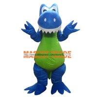 2015 divertente blu drago adulto mascot costume taglia: s m l xl xxl