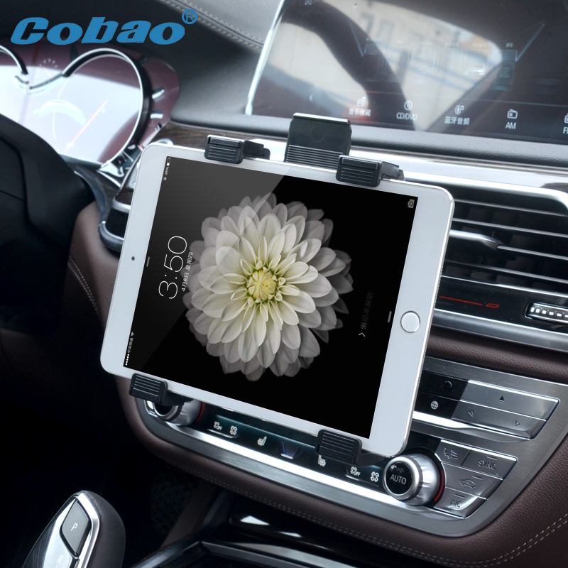 Universal 7 8 9 10 11 Tablet Car Air vent Holder Mount Stand Vent Holder For iPad 2 3 Air Tablet PC Soporte Tablet hbt3570100 universal 3 7v 3000mah built in battery for 7 8 9 10 10 1 tablet pc silver