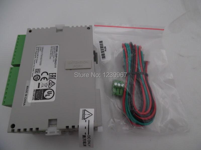 DE-LTA PLC DC24V 8DI 4DO Transistor DVP12SA211T Original New In Box tascam la 80mk2 di box 8