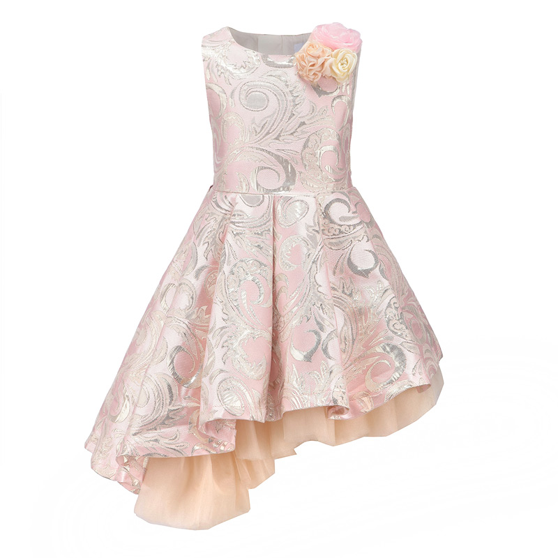 Childdkivy Girls Princess Dress 3-12Years Kids Sleeveless Autumn Winter Dresses for Baby Girl Robe Fille Children Party Clothes kids party dress elegant princess dresses autumn 2018 baby girl long sleeve clothes teen dress for children girls robe fille
