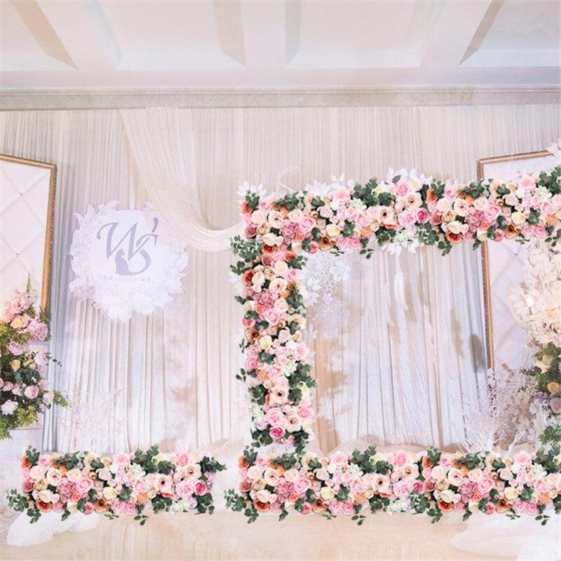 Ev ve Bahçe'ten Yapay ve Kurutulmuş Çiçekler'de Düğün kemer çiçek sıra çiçek yapay çiçekler duvar düğün sahne arka plan ev dekoratif sahte çiçek ticari ekran'da  Grup 3