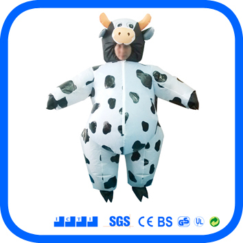 inflatable cow costume 100% polyester 200cm height for adult  sc 1 st  AliExpress.com & inflatable cow costume 100% polyester 200cm height for adult on ...
