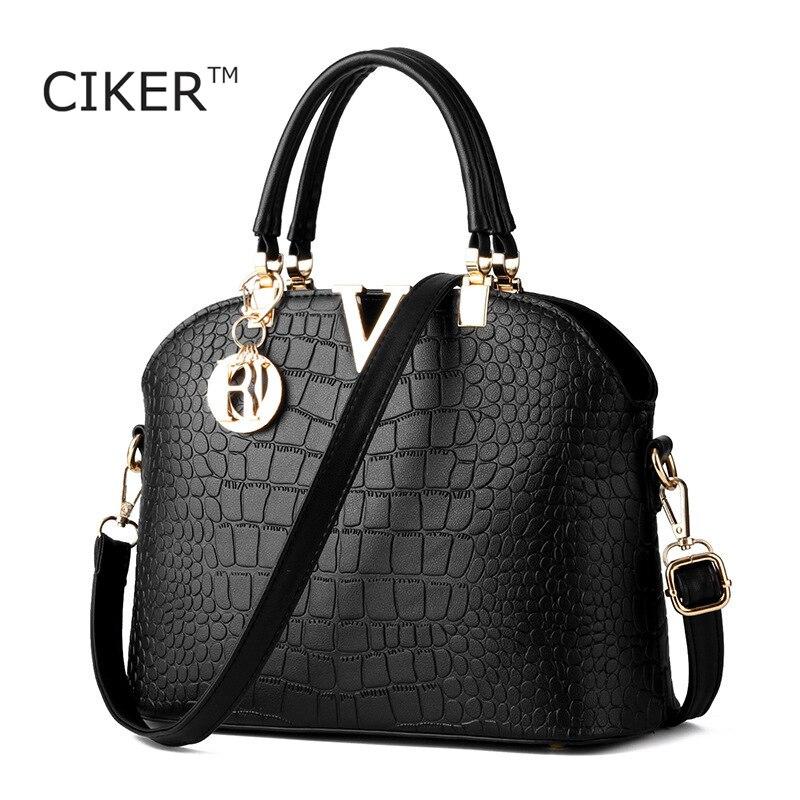 CIKER New Fashion Women Leather Handbags Women s Shoulder Crossbody Bags Famous Brands Ladies Messenger Bags