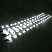 8Pcs  White LED 1 Ft Submersible Navigation Light Waterproof Marine Boat 12V