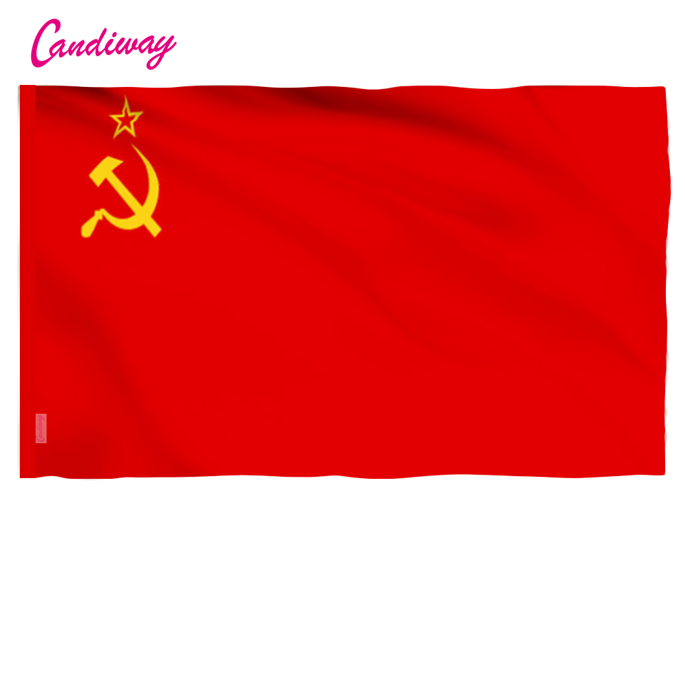 11,11 Hohe Qualität Rot Cccp Union Der Sozialistischen Sowjetrepubliken Udssr Flagge Banner Indoor Outdoor Home Decor 96*64 Cm Nn001 Reinigen Der MundhöHle.