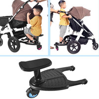 Baby Accessories Auxiliary Pedal For Strollers Kids Glider Board Family With Two Kids Stroller Trailer Sitting Or Standing