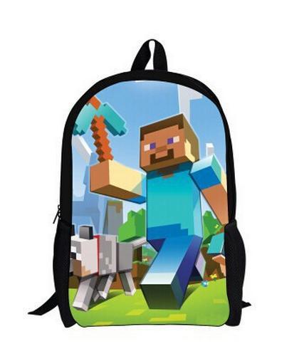Online Shop NEW 2015 HOT minecraft backpacks school bags,minecraft ...