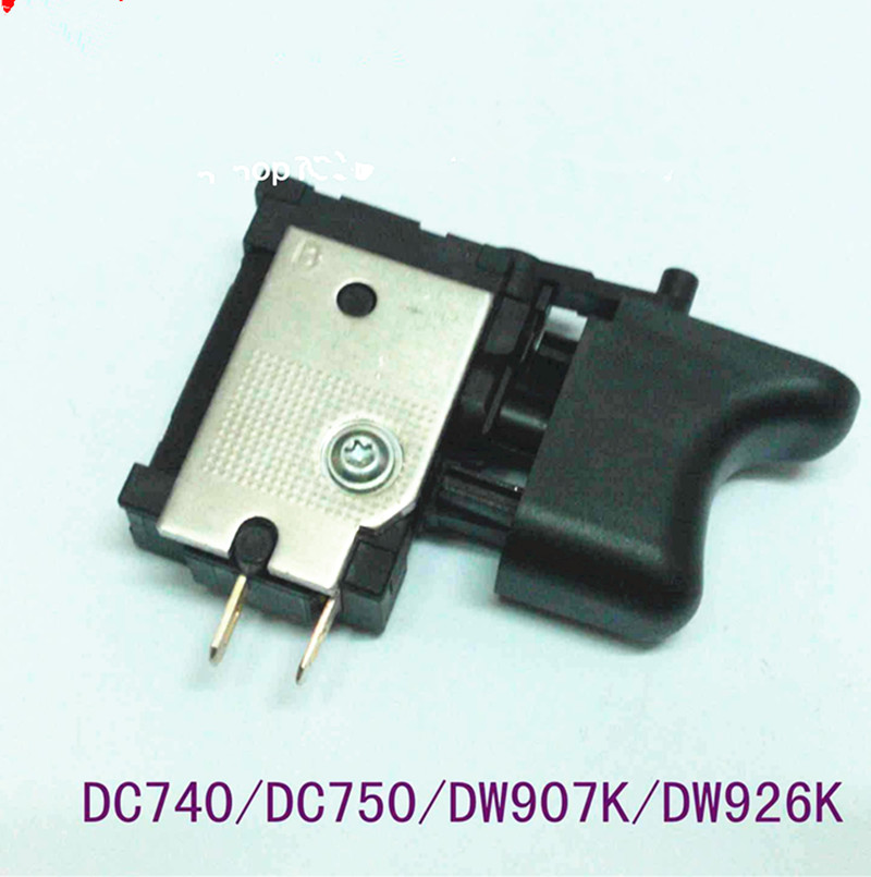 Switch  on off N022564 For  DeWALT DC740 DC750 DW907K DW926K  Switch Cordless Drill Screwdriver Power Tools   Spare Parts roland ink pump motor for fj 740 sj 740 xj 740 xc 540 rs 640 103 593 1041 22435106