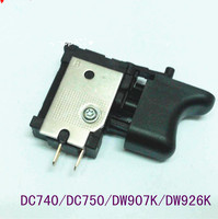 Switch on off N022564 For DeWALT DC740 DC750 DW907K DW926K Switch Cordless Drill Screwdriver Power Tools Spare Parts