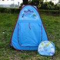 Boa qualidade Brinquedos Tenda: Portátil casa de jogo para Crianças Bebê Seguro Interior e exterior Tenda Tenda & Assistente Azul