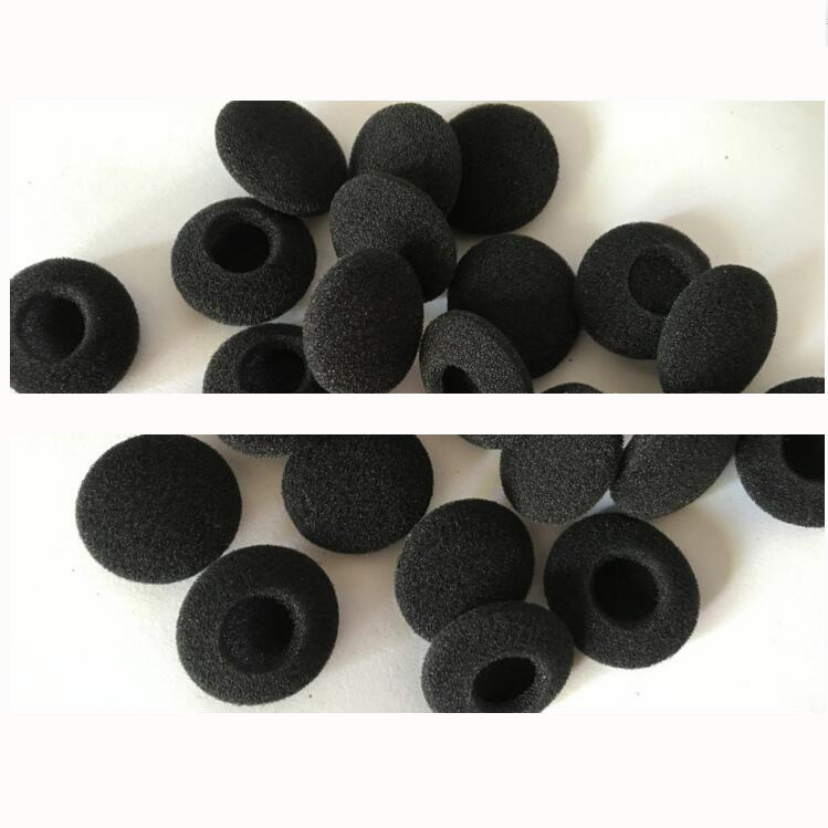 Mousse oreillettes écouteurs écouteurs 23mm casque oreillettes coussin remplacement éponge couvre conseils pour écouteurs MP3 MP4 10cs/5 paires