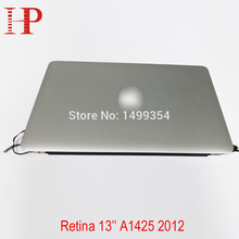 """Genuine Used A1425 LCD Screen Assembly For Apple Macbook Pro 13"""" Retina A1425 LCD Assembly 2012 MD212 MD213 2560*1600"""