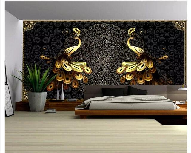 Beibehang Papiers Peints Decor A La Maison De Luxe Decoration De La
