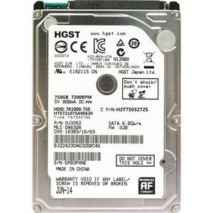 HGST Disk Notebook 7200rpm Hard-Drives Laptop Internal SATAIII NEW Hdd 750gb for HTS721075A9E630