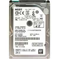 "HGST NEW 2.5"" HDD 750GB Internal Laptop Hard Drives disk 7200rpm SATAIII 750g for Notebook HTS721075A9E630 9.5mm"