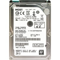 HGST NEW 2.5 HDD 750GB Internal Laptop Hard Drives disk 7200rpm SATAIII 750g for Notebook HTS721075A9E630 9.5mm