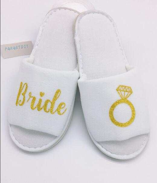 1fce95a81fc Online Shop personalized Wedding Slippers