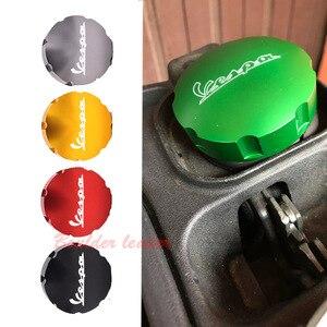 Image 4 - Gas Fuel Tank Filler Oil Cap Cover for Piaggio Scooter VESPA GTS GTV LX Primavera Sprint 125 150 250 300 300ie