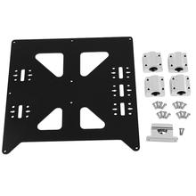 Aluminum Y Carriage Anodized Plate With Sc8Uu Pgrade Prusa I3 V2 Hot Bed Support Plate For Prusa I3 Reprap Diy 3D Printer Part стоимость