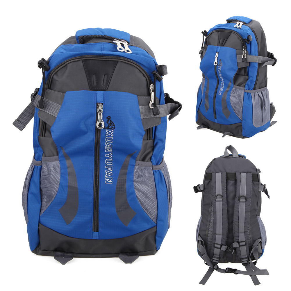 Outdoor Climbing Backpack Men s Travel Bag Man Backpack Polyester Bags Waterproof Shoulder Bags Hiking Athletic