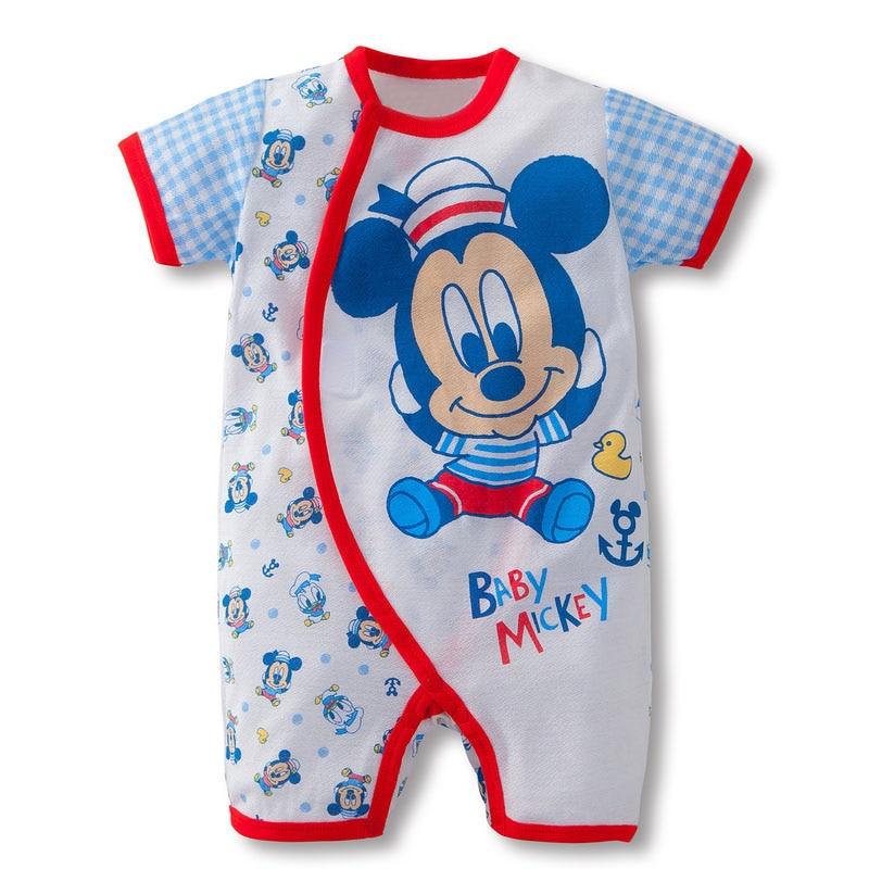 Toddler Boys Girl Baby Romper Summer Short Sleeve 100/% Cotton jumpsuits bodysuit