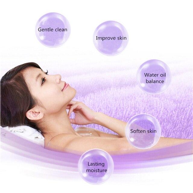 Plant Extracts Lavender Bath Sea Salts Mud Body Rub Replenishment Moisturizing Wash Care Exfoliating,Gentle Cleanses Skin Dirt. 2