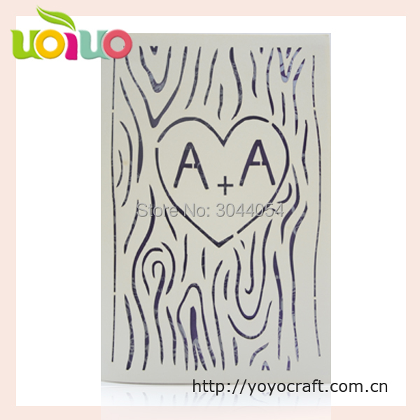 Us 34 0 Free Logo Promotion Laser Cut Scroll Wedding Invitations Card 3d Handmade Baby Naming Ceremony Invitation Cards Printing In Cards