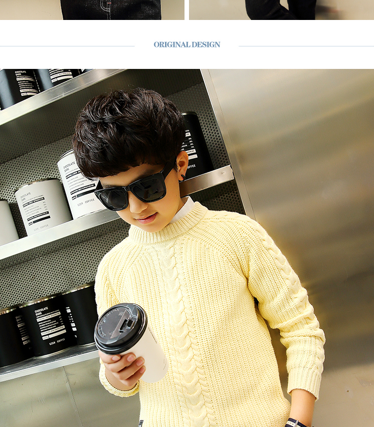 HTB12QE8kwn.PuJjSZFkq6A lpXa5 - 2019 winter children's clothing Boy's clothes pullover Sweater Kids clothes Cotton products Keep warm Boy sweater Thicker