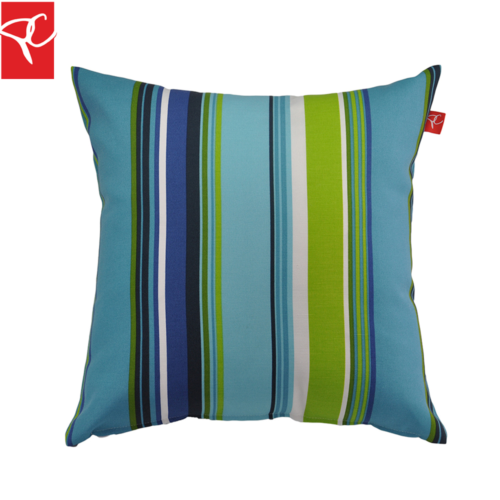 Hayden Stripe Outdoor Pillow Water Repellent Uv Resistant Cushions  Decorative Pillow Coussin Almofada For Patio
