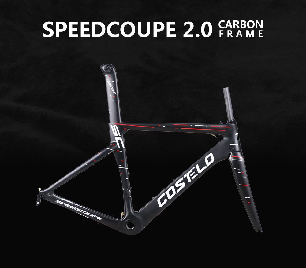 discount 2018 Costelo Speedcoupe 2.0 full carbon fiber road bike cycling frame bicicleta frame cheap bicycle frame 48 51 54 56 2019 costelo speedcoupe carbon road bike frame costelo bicycle bicicleta frame carbon fiber bicycle frame 48 51 54 56