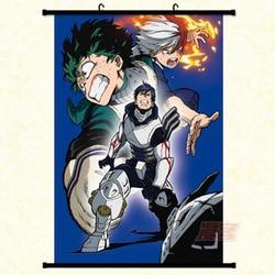 mling 1PC Japanese Anime Boku no Hero Academia Naruto Tokyo Ghoul My Hero Academia Collective Wall Scroll Poster Cosplay