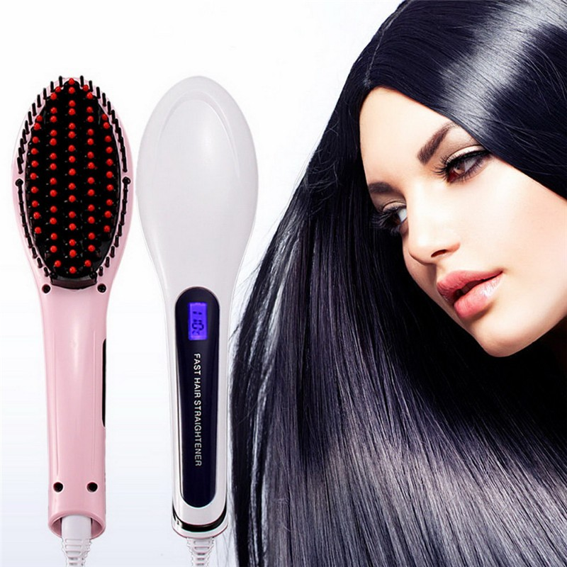 Brush-Hair-Straightener-Comb-Irons-Come-With-LCD-Display-Electric-Straight-Hair-Comb-Straightening-20pcs-lot