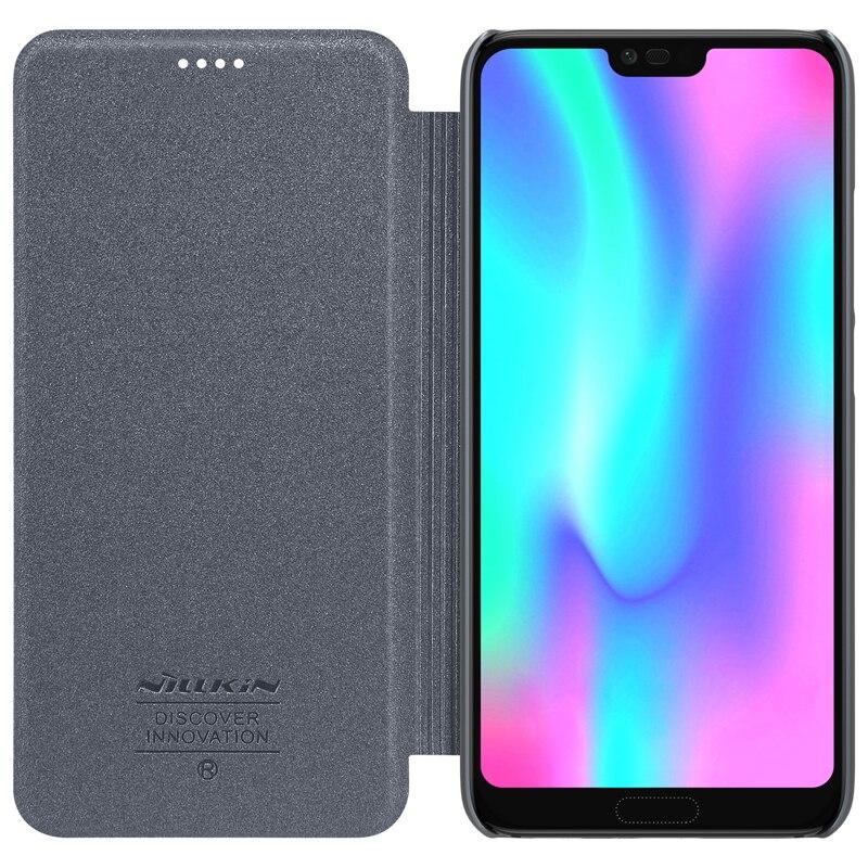 Funda Huawei Honor 10 Lite Funda NILLKIN Sparkle Super Thin Flip - Accesorios y repuestos para celulares - foto 1