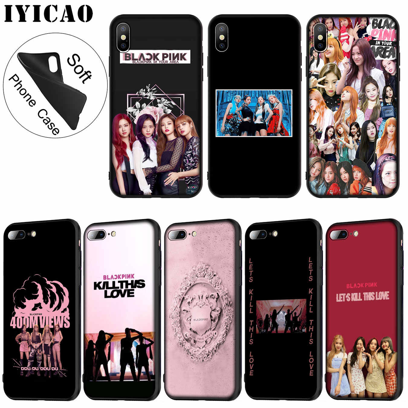 Detail Feedback Questions about BLACKPINK Kill This Love tpu Fundas