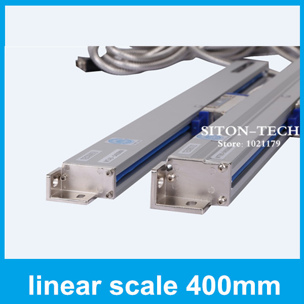 Free shipping absolute sealed encoder lineal Rational WTA5 5 micron 400mm turning lathe drill machine encoder scale 400mm  цены