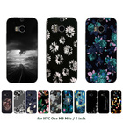 Soft Silicone Case For Coque HTC One M8 M8s Case Back Cover TPU Multicolor Printed For Fundas HTC One M8 M8s Phone Capa